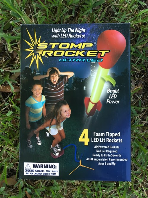 Hours of Fun & S.T.E.M. Education With The Stomp Rocket