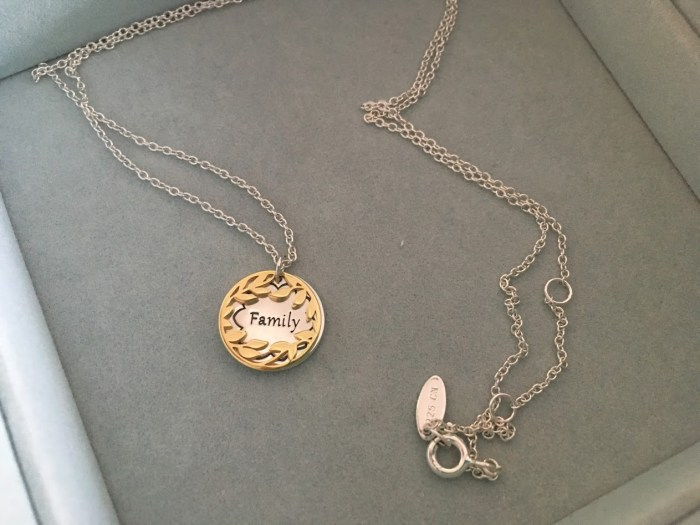 Elegant New Chamilia Treasure Necklaces