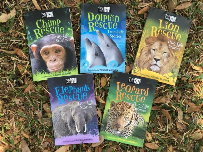 Born Free True-Life Stories About Rescuing Animals