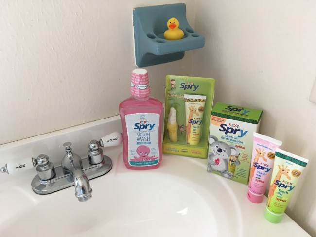 Keep Baby's First Teeth Clean With Spry