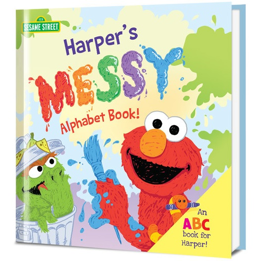 Learn Your Messy ABCs with Oscar the Grouch & His Sesame Street Friends! + Sweepstakes