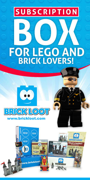 Brick Loot is The HOT Subscription Box for LEGO and Brick Fanatics!