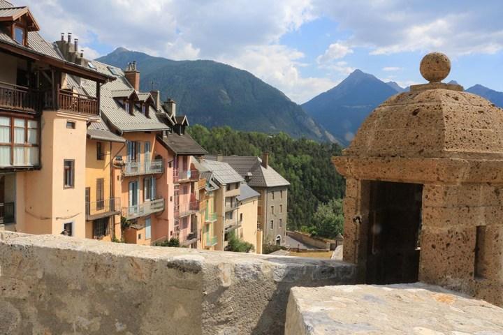 Citadelle de Briançon, classée au patrimoine mondial de l'UNESCO