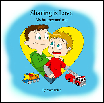 Sharing is Love- My Brother and me { Children's Book Review }