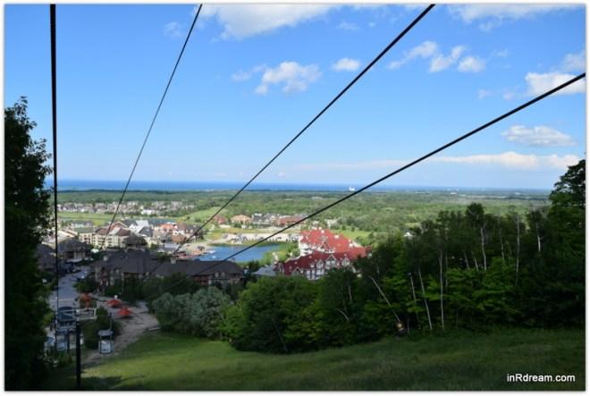 Blue Mountain Resort Ontario Open air Gondola