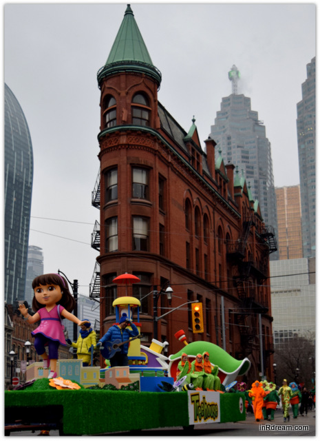 Toronto Santa Claus Parade 2014 Dora Float