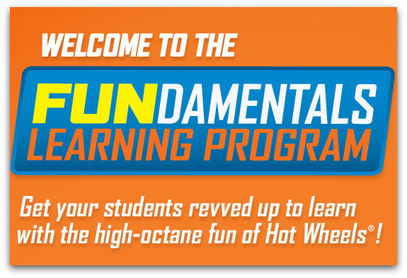 Attention Teachers & Parents! FREE Hot Wheels FUNdamentals Learning Program