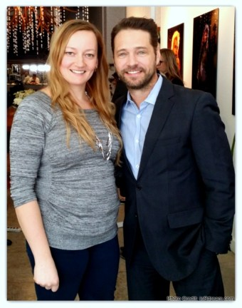 Clean water advocate Jason Priestley  and Canadian Blogger PG mom  Tammy Mitchell