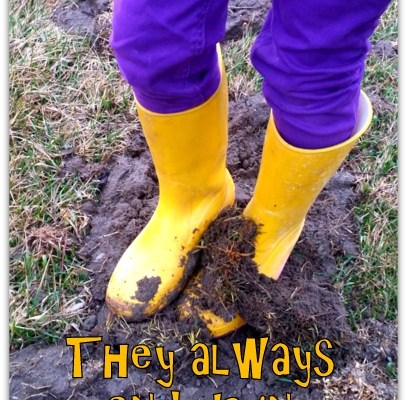 Always Ending Up In The Mud! + #PGmom Giveaway