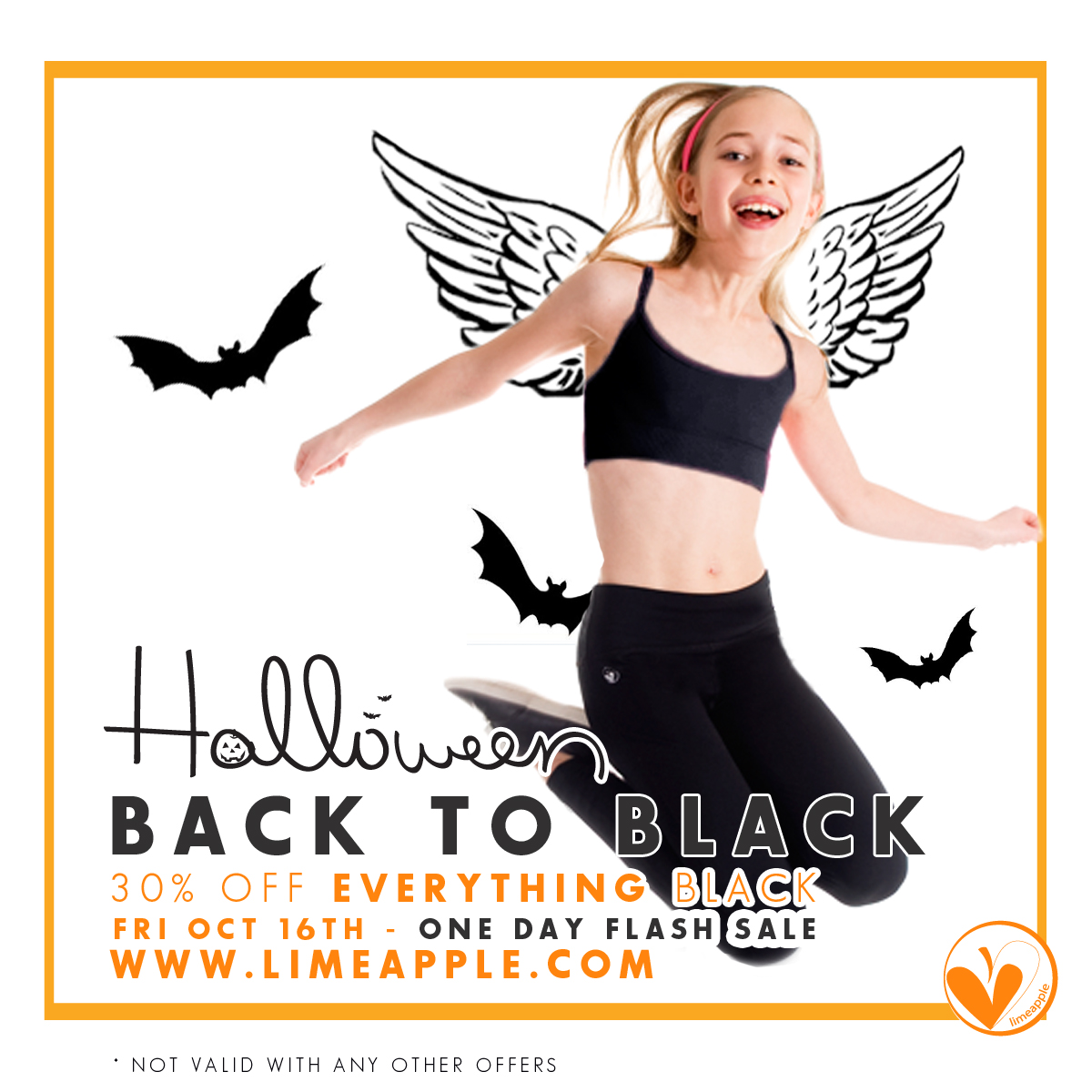 Going Back to Black – This Friday – One Day Flash Sale With LimeApple.ca For Girls