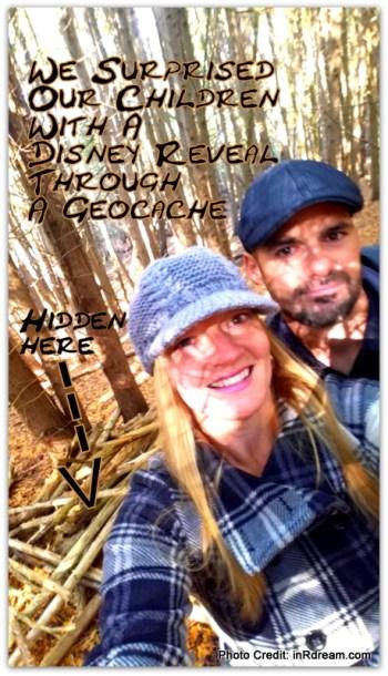 Disney Reveal, Geocaching