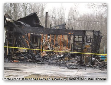 True Story: A House Fire Can Happen To You, Our Friends Are Living That Right Now. #FireSafety