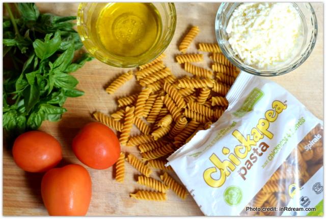 Garden Fresh Chickapea Pasta Recipe: Lunchbox Super Food