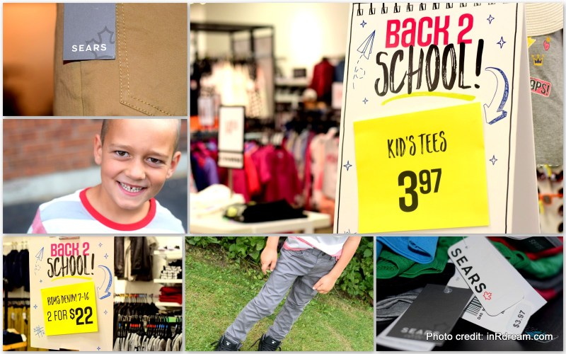Back to School Budget, Sears Canada, Affordable back to school, Back to school shopping, private label, private clothing label, Back to school 2017, back to school t-shirts, where to buy back to school clothes, Canada back to school shopping, best back to school shopping, Sears Canada changes, New to Sears Canada
