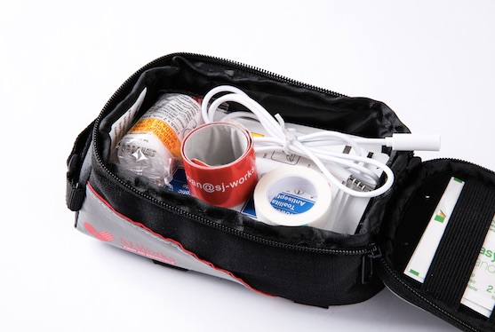 SJ WORKS, Bike first aid kit, bicycle first aid kit,