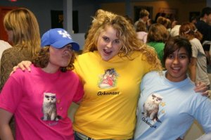 The one where we bought cat shirts on our random road trip vacay
