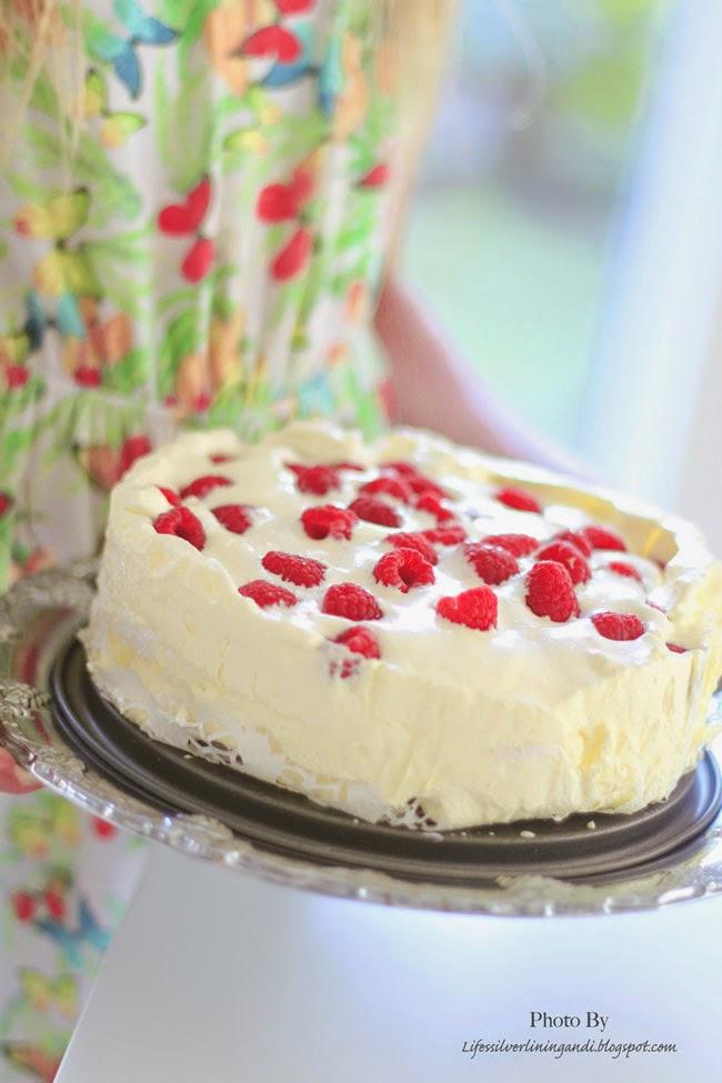 vaniljvisp och marängtårta