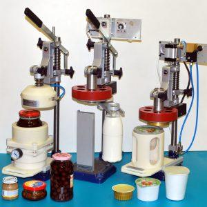 Устройства укупорки для различных видов тары