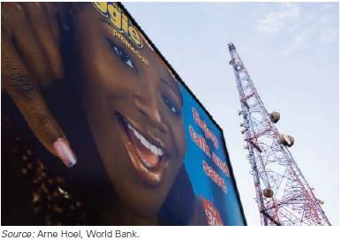 ilustrasi infrastruktur telekomunikasi