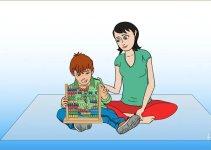 ilustrasi belajar sempoa dasar