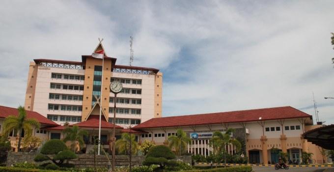 tampak depan Politeknik Negeri Batam