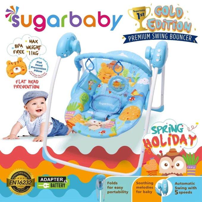Ayunan Bayi Modern Sugar Baby Premium Swing Bouncer
