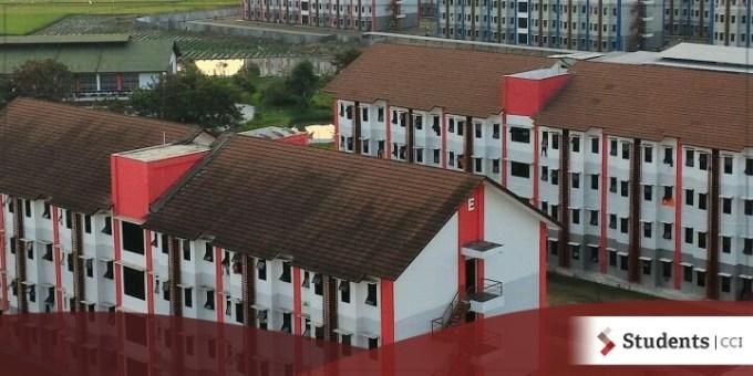 Fasilitas asrama kampus telkom university