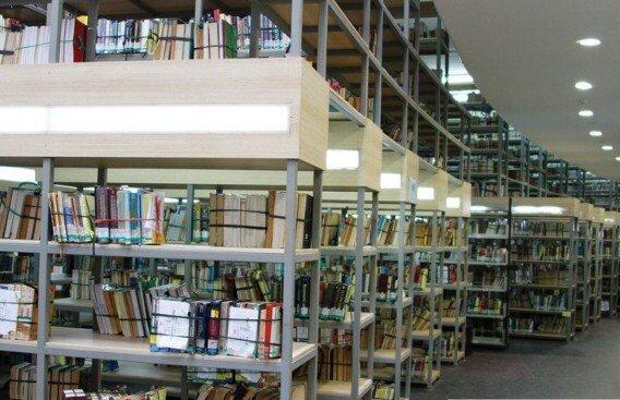 review kampus program vokasi ui - perpustakaan