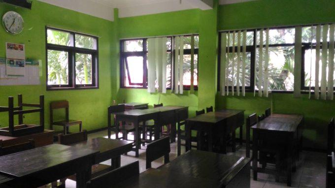 ruang kelas SMAN 3 Malang