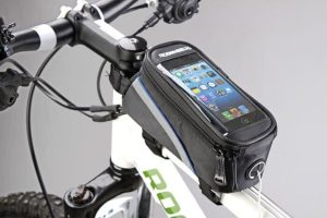 Aksesoris sepeda: Bike waterproof bag 5.5 inch