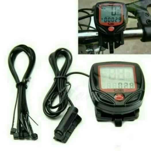 Aksesoris sepeda: Cycle computer speedometer