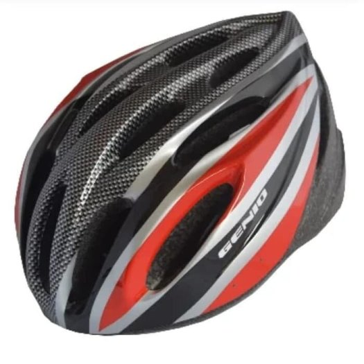 Helm sepeda Genio 16 MTB hitam