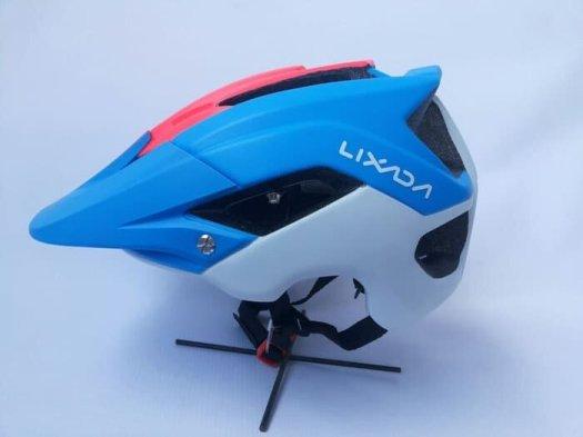 Helm sepeda Lixada Enduro biru