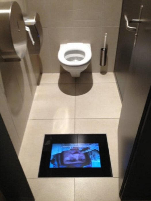 Penemuan Baru di Indonesia: Toilet di bioskop memutar film yang sama dengan yang Anda tonton