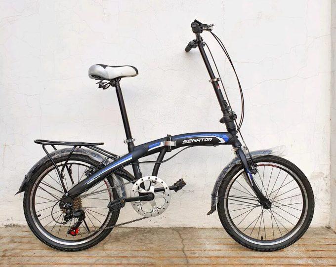 Sepeda Lipat Senator Ukuran Frame 20