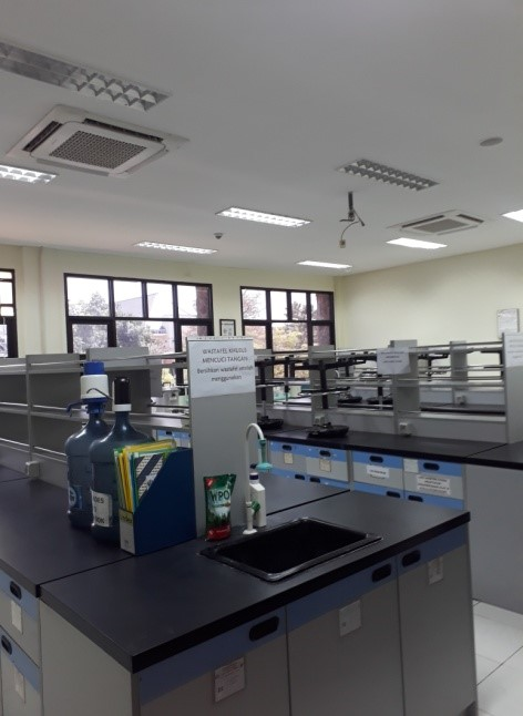 Laboratorium di Teknologi Pangan FTIP Unpad