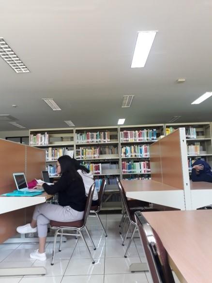 Perpustakaan di Teknologi Pangan FTIP Unpad