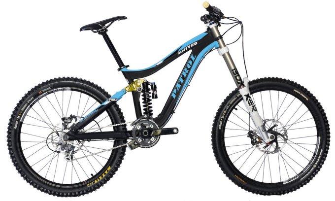 Sepeda Patrol 871 Full bike Downhill