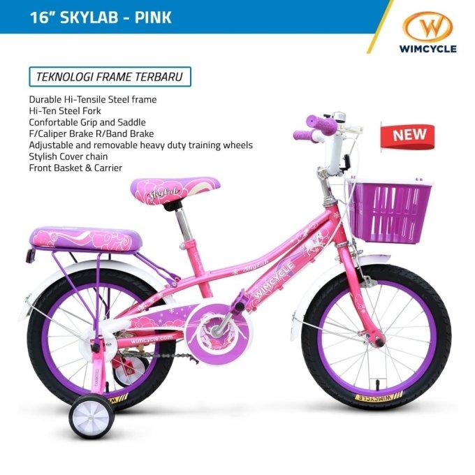 Sepeda anak WimCycle CTB Skylab