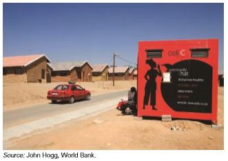 Layanan Seluler di Pedesaan Afrika Selatan