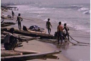 Ilustrasi Ponsel Dapat Membantu Nelayan Menjual Tangkapannya