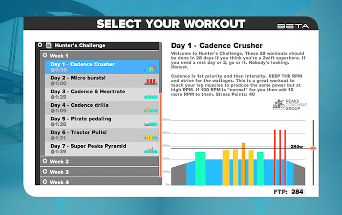 Zwift Custom Workouts