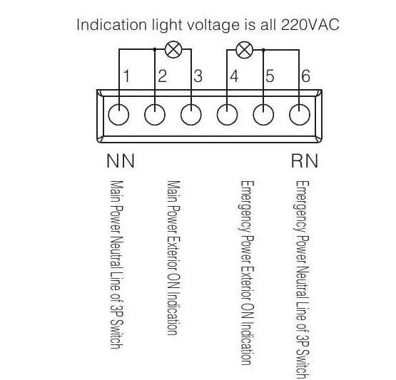 YEQ1-63M Dual power Automatic Transfer Switch,Dual power