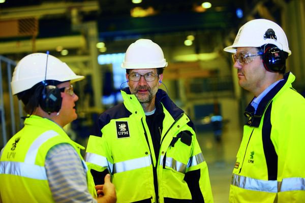 UPM decreased workrelated accidents by 60 in two years