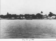 Thinadhoo Island in the 1960s.