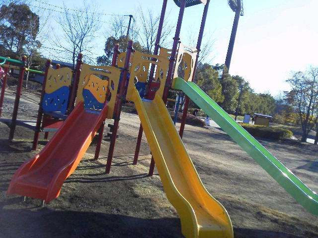 Slides at Kitamoto General Park