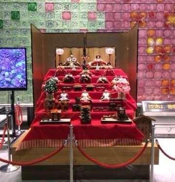 Hina Matsuri Displays. At Narita Airport