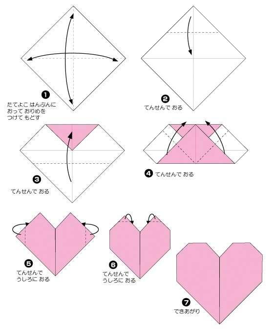 6 Easy Activities With Valentines Origami Hearts For Preschoolers