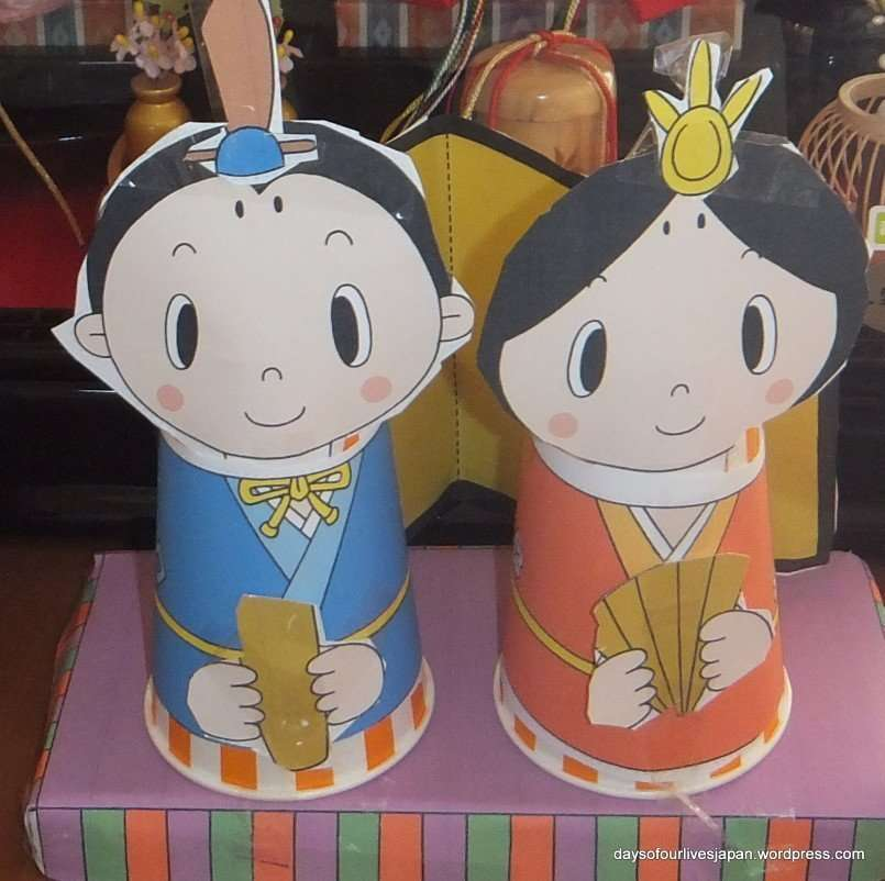Hina Matsuri Paper Cup Craft for Toddlers and Preschoolers