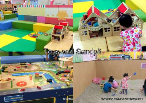 Toys and Sandpit